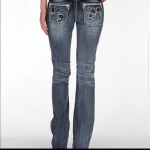 Rock revival stacey boot cut jeans.